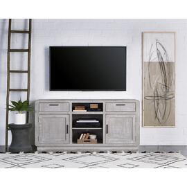 64 Inch Console - Gray Chalk Finish