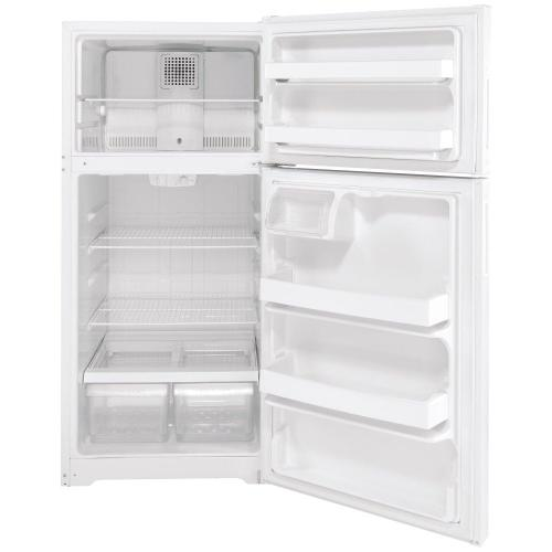 Hotpoint® 15.6 Cu. Ft. Recessed Handle Top-Freezer Refrigerator