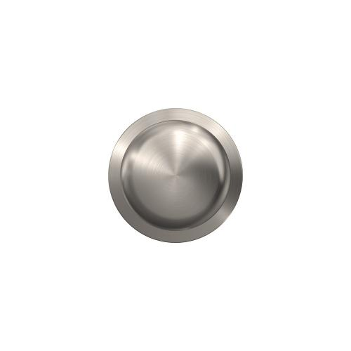 Custom Plymouth Non-Turning Knob with Kinsler Trim - Satin Nickel