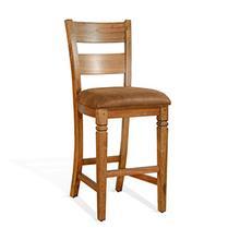 "See Details - 30""H Ladderback Barstool"