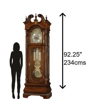See Details - Howard Miller Eisenhower Grandfather Clock 611066
