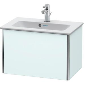 Vanity Unit Wall-mounted Compact, Light Blue Matte (decor)