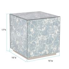 See Details - Paxton Mirrored Side Table