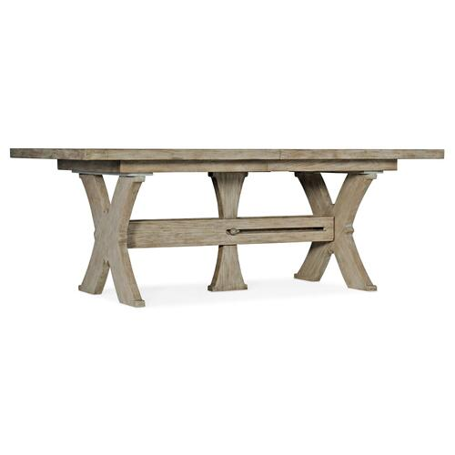 Dining Room Alfresco Vittorio 80in Rectangle Dining Table w/ 2-22in Leaves