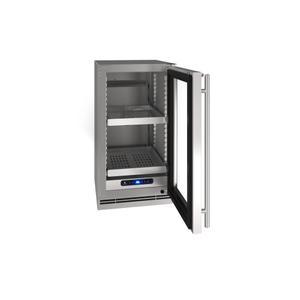 "U-Line18"" Refrigerator With Stainless Frame Finish (115 V/60 Hz Volts /60 Hz Hz)"