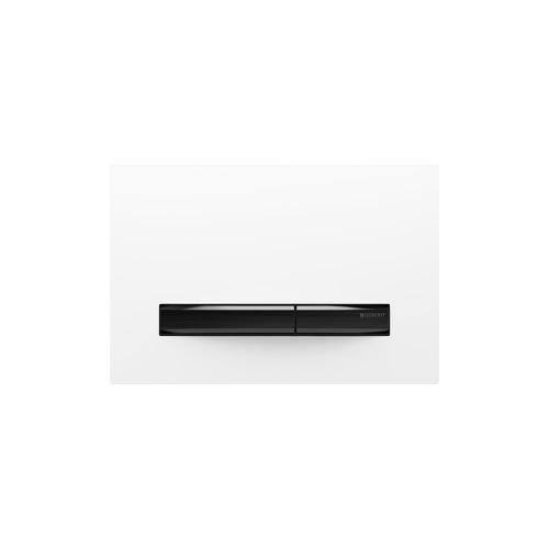 Sigma50 Dual-flush plates for Sigma series in-wall toilet systems White Finish