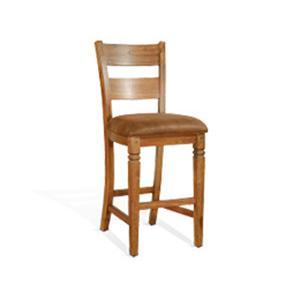 "Sunny Designs - 30""H Ladderback Barstool"
