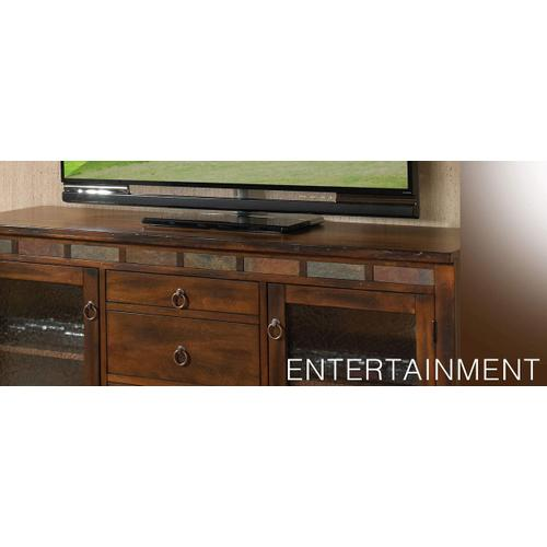 "60"" TV Console w/ Game Drawer"