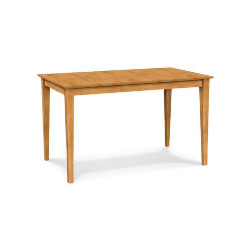 John Thomas Furniture - Solid Top Shaker Table