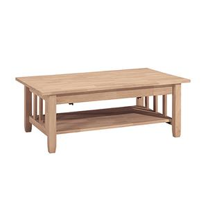 BJ6TCL Mission Lift-Top Coffee Table