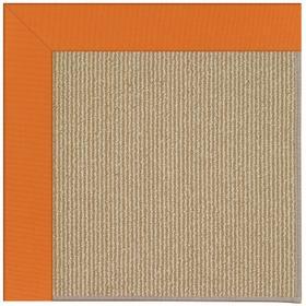 Creative Concepts-Sisal Canvas Tangerine Machine Tufted Rugs