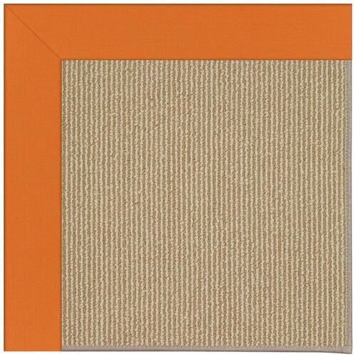 Creative Concepts-Sisal Canvas Tangerine Machine Tufted Rugs