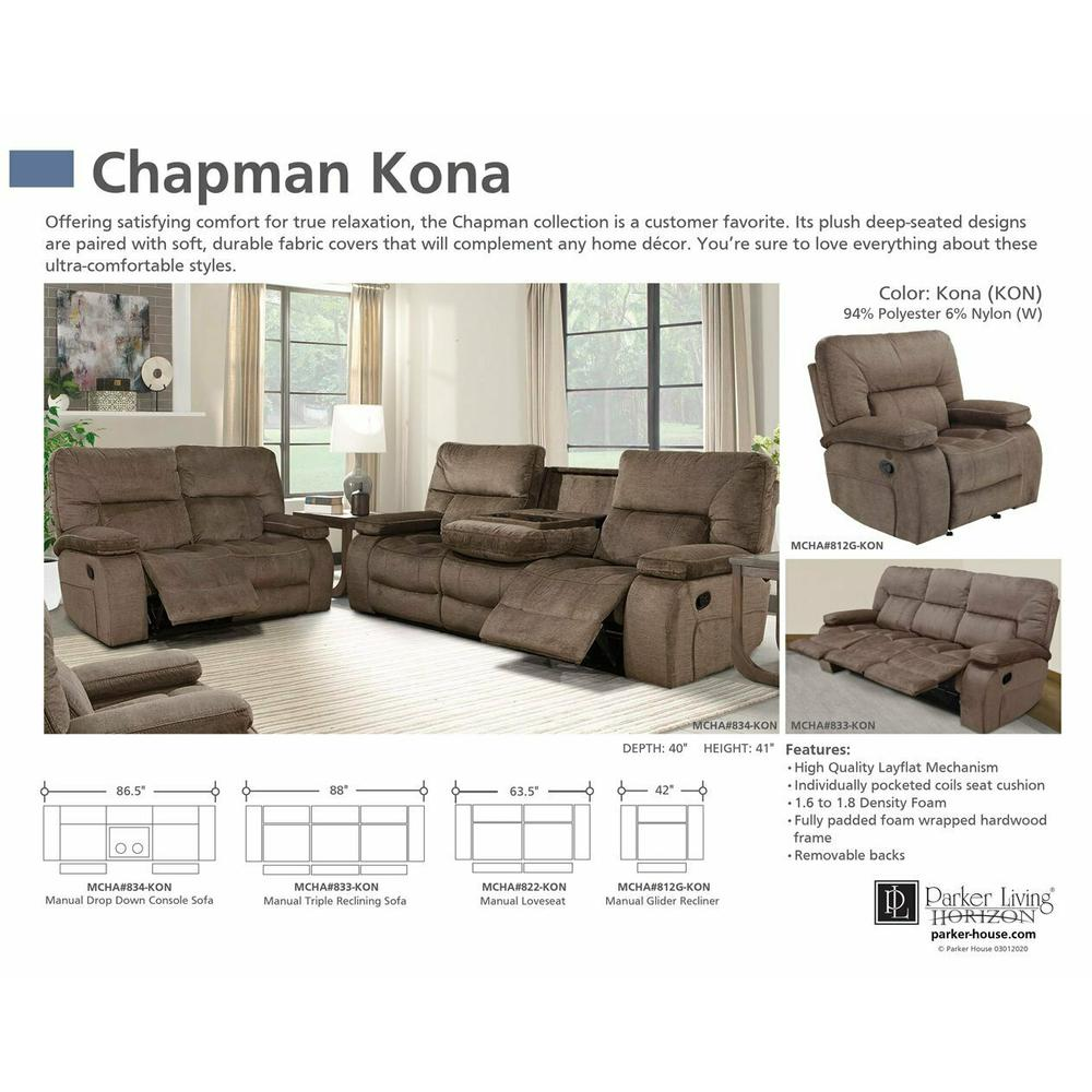CHAPMAN - KONA Manual Drop Down Console Sofa