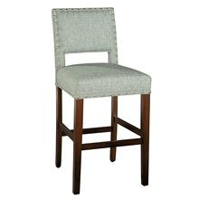 7455 Locke Bar Stool with Nailheads