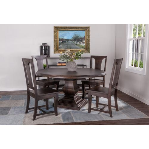 """Nimes 48"""" Round Dining Table Vintage Java"""