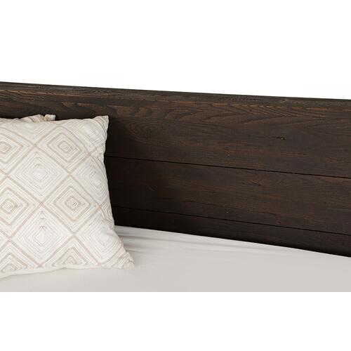 VIG Furniture - Modrest Selma Modern Dark Aged Oak Bed