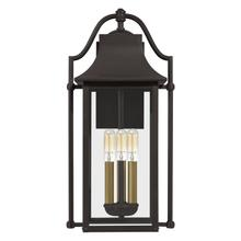 View Product - Manning Outdoor Lantern in Western Bronze