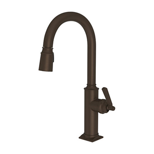 Newport Brass - Weathered Copper - Living Pull-down Kitchen Faucet