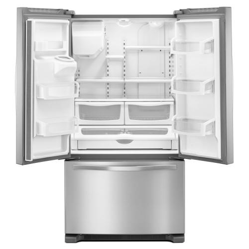 Whirlpool WRF555SDFZ   36-inch Wide French Door Refrigerator - 25 cu. ft.