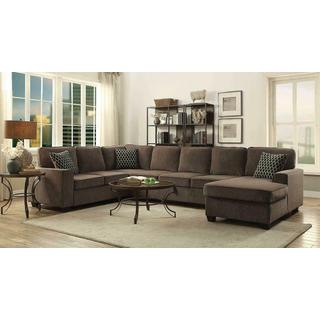 See Details - Provence Transitional Brown Sectional