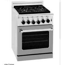 """See Details - 24"""" Residential Range Gray Color"""
