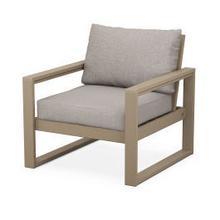 EDGE Club Chair in Vintage Sahara / Weathered Tweed