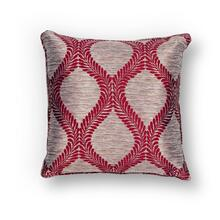 "L239 Red Elegance Pillow 18"" X 18"""