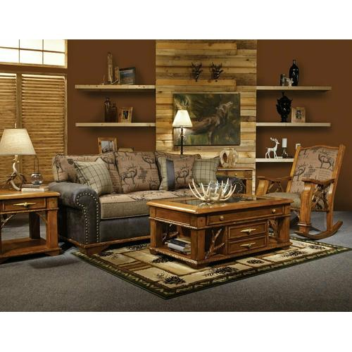 Whitetail Ridge Storage Ottoman