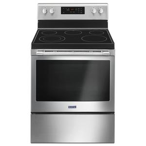 Maytag30-Inch Wide Electric Range With Shatter-Resistant Cooktop - 5.3 Cu. Ft.