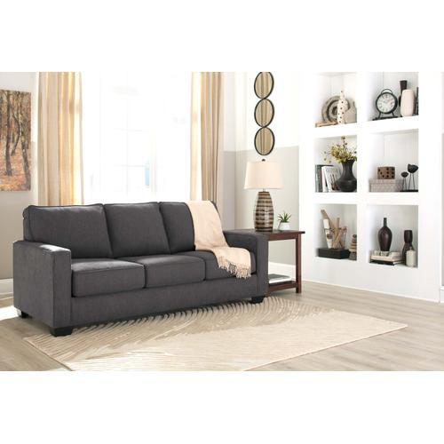 Zeb Queen Sofa Sleeper - Charcoal