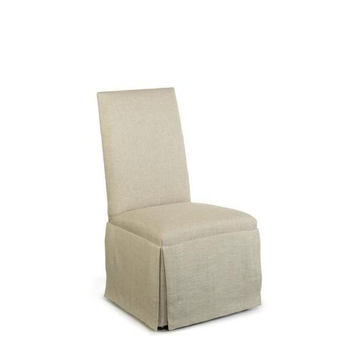 Hollister Strght Back/strght Top Chair W/casters
