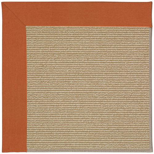 """Capel Rugs - Creative Concepts-Sisal Canvas Rust - Rectangle - 24"""" x 36"""""""