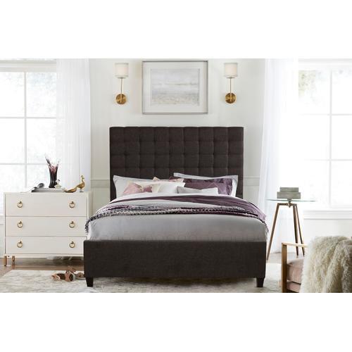 Bergen Queen Bed, Onlyx Linen