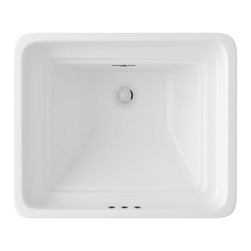 Perrin & Rowe Undermount Rectangular Sink