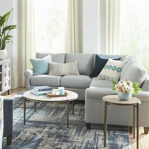 Dove Spencer Small L-Shaped Sectional