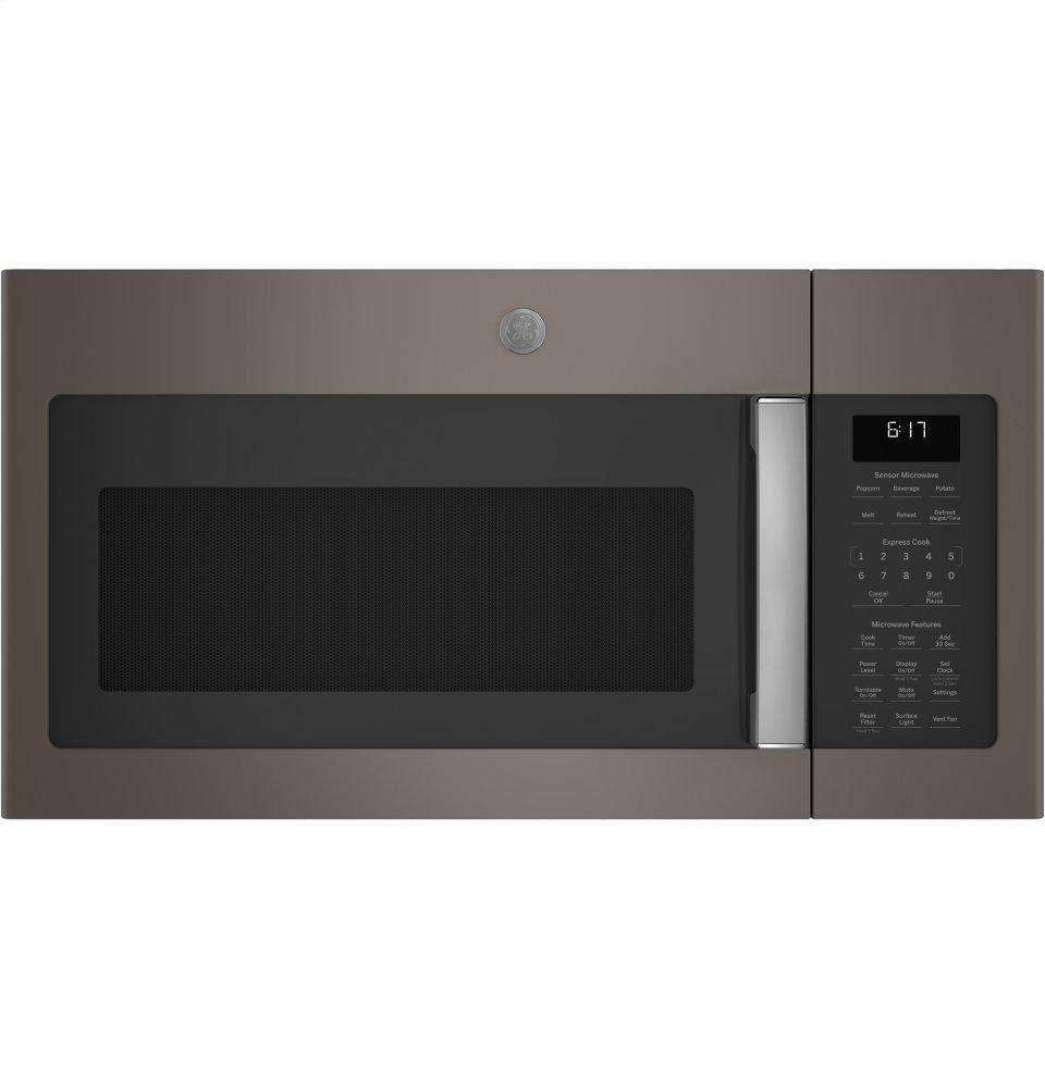 GE1.7 Cu. Ft. Over-The-Range Sensor Microwave Oven