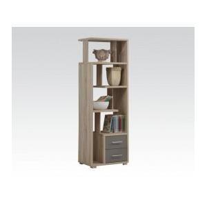 Acme Furniture Inc - Light Oak Bookcase W/2 Drws