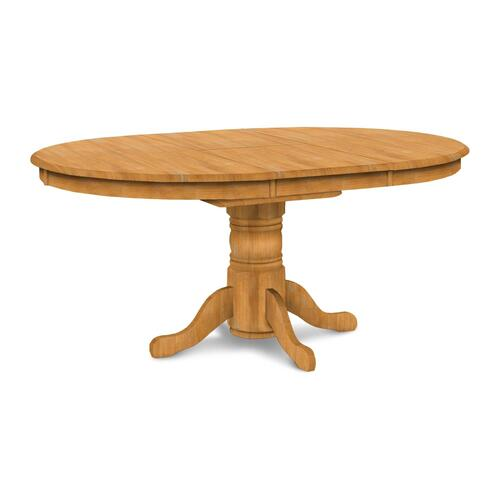 Butterfly Leaf Pedestal Table (top only) / Turned Pedestal