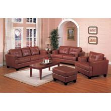 Brown Bonded Sofa
