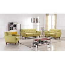 Divani Casa Corsair Timeless Ginger Fabric Sofa Set