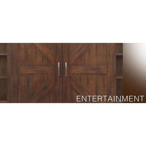 Santa Fe Entertainment Wall
