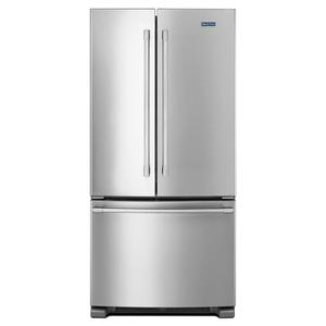 MAYTAG33-Inch Wide French Door Refrigerator - 22 Cu. Ft.