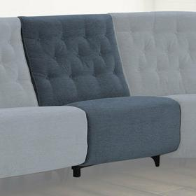 CHELSEA - WILLOW BLUE Power Armless Recliner