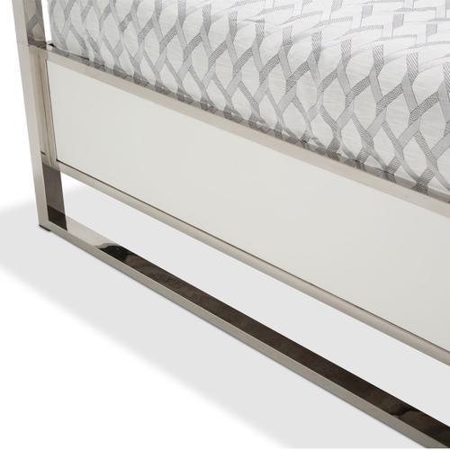 Amini - Cal King Metal Canopy Bed (4 Pc)