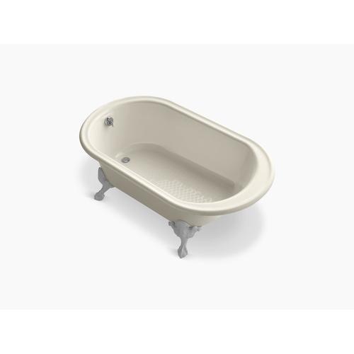 "Almond 66"" X 36"" Freestanding Oval Bath"