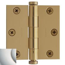 View Product - Polished Nickel with Lifetime Finish Square Corner Hinge