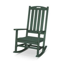 View Product - Nautical Porch Rocking Chair in Green