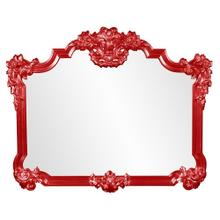 View Product - Avondale Mirror - Glossy Red