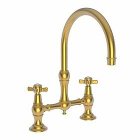 Satin Gold - PVD Kitchen Bridge Faucet