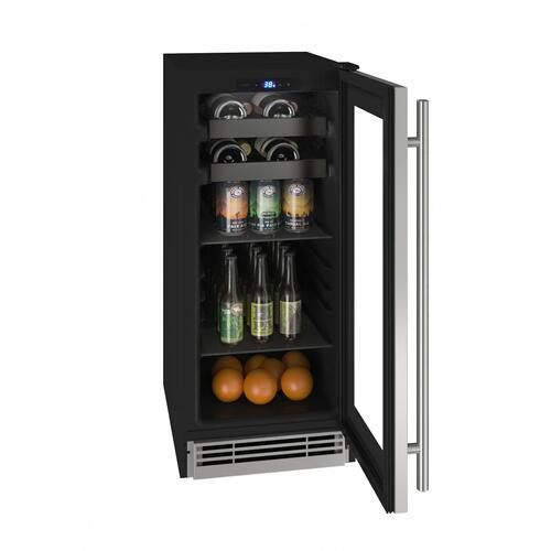 "Hbv115 15"" Beverage Center With Stainless Frame Finish (115v/60 Hz Volts /60 Hz Hz)"
